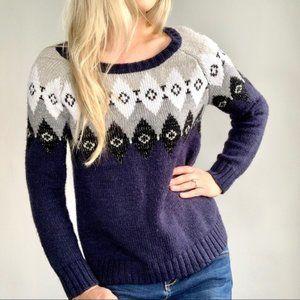 American Eagle Fair Isle Sweater